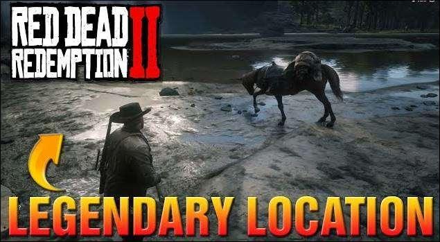 Red Dead Redemption 2 Hewan Legendaris Lokasi_3