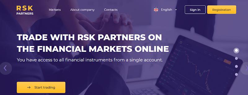 Мошеннический сайт rsk-partners.com – Отзывы, развод. Компания RSK Partners мошенники