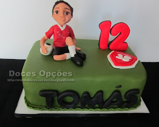 Bolo de aniversário do Tomás