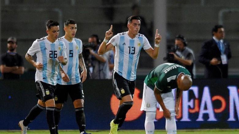 Tanpa Kesulitan, Argentina Libas Meksiko