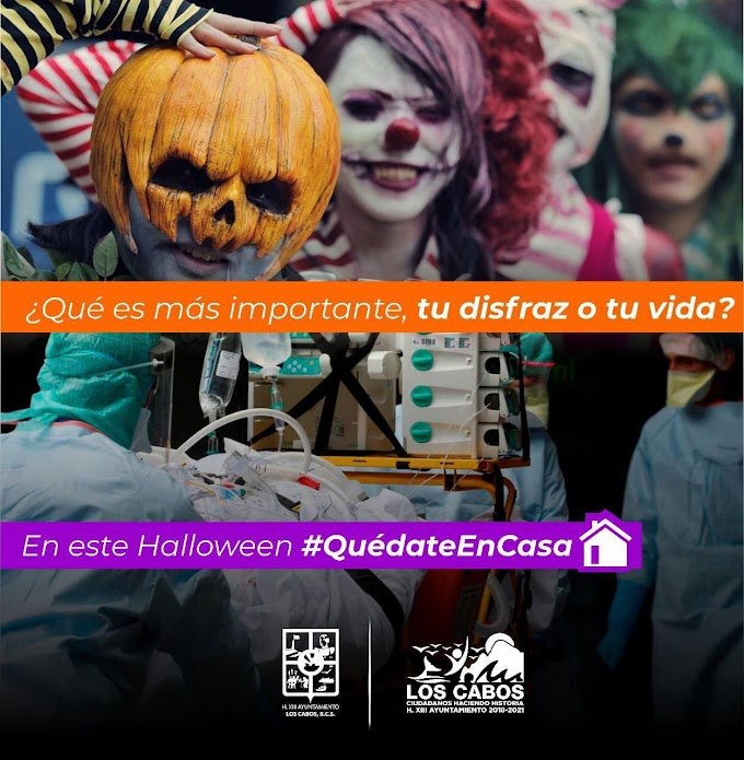 Halloween Celebrations Prohibited in Los Cabos