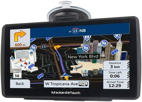 MekedeTech GPS Navigation for Car Truck