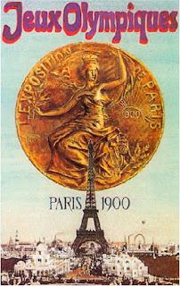 Jocs Olímpics, París 1900, ilustració, poster, Torre Eiffel
