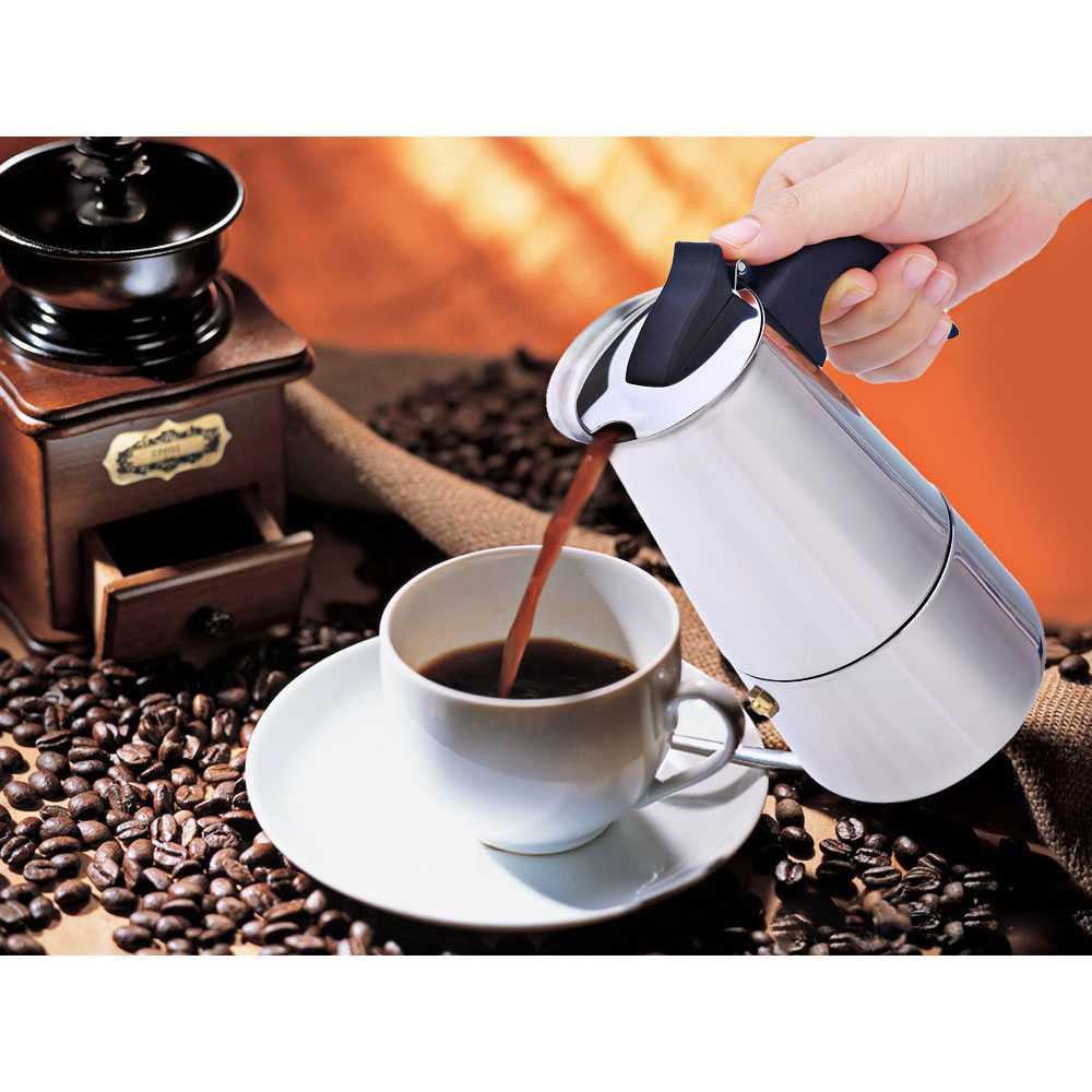 Coffee Maker Moka Pot Teko 100ml 2 Cup