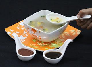 SWEET CORN SOUP / VEGETABLE SWEET CORN SOUP / VEG SWEET CORN SOUP