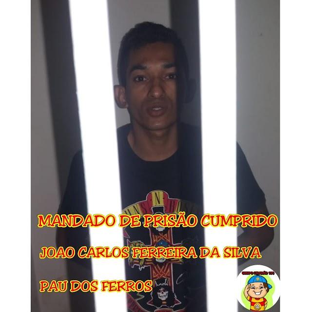 Pauferrense foragido da Justiça há dois anos foi preso pela Polícia Civil