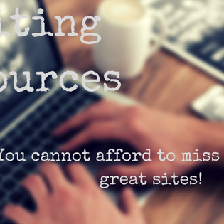 Writing Resources: Writers, you CANNOT afford to miss these helpful sources!