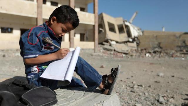 Unicef: Agresión a Yemen priva a 2 millones de niños de ir a la escuela