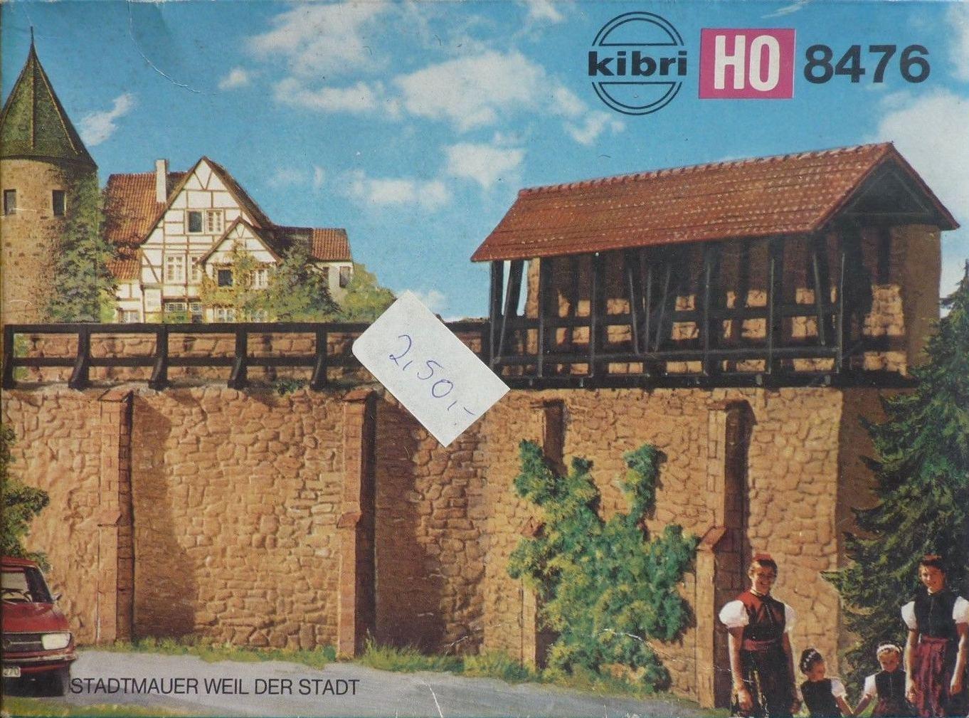 Bahnbauten H0/TT/N: Stadtmauer Weil Der Stadt