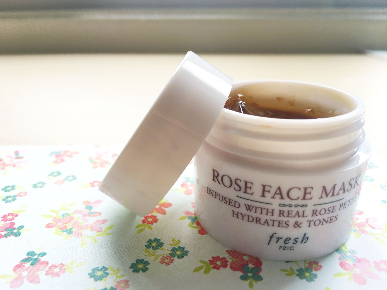 Fresh Rose Face Mask | Akinokiki