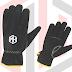 Split leather driver glove