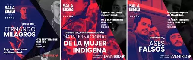 Vuelve la música en vivo a Salas SCD con Ases Falsos y Fernando Milagros musica chilena música chilena