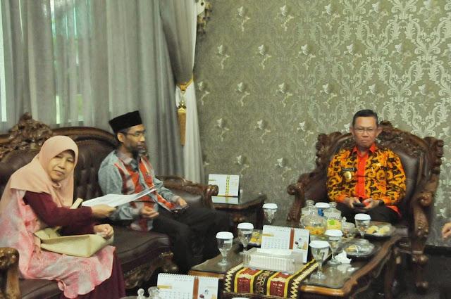 Terima Kunjungan DPD, Sekda Bahas Bantuan dan Perekonomian