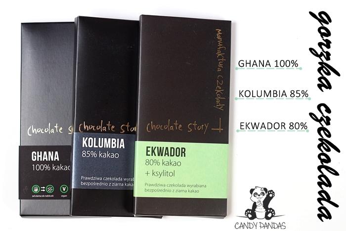 Gorzkie czekolady 80%, 85% oraz 100% - Manufaktura Czekolady