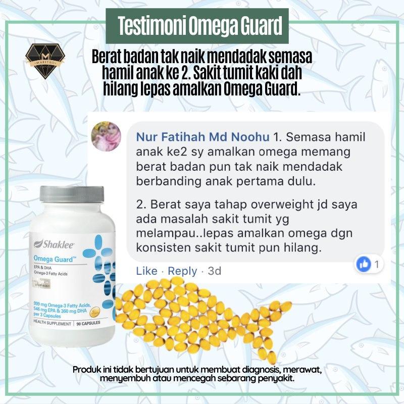 omega guard untuk sakit tumit