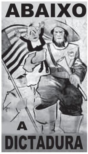 Cartaz da Revolução Constitucionalista