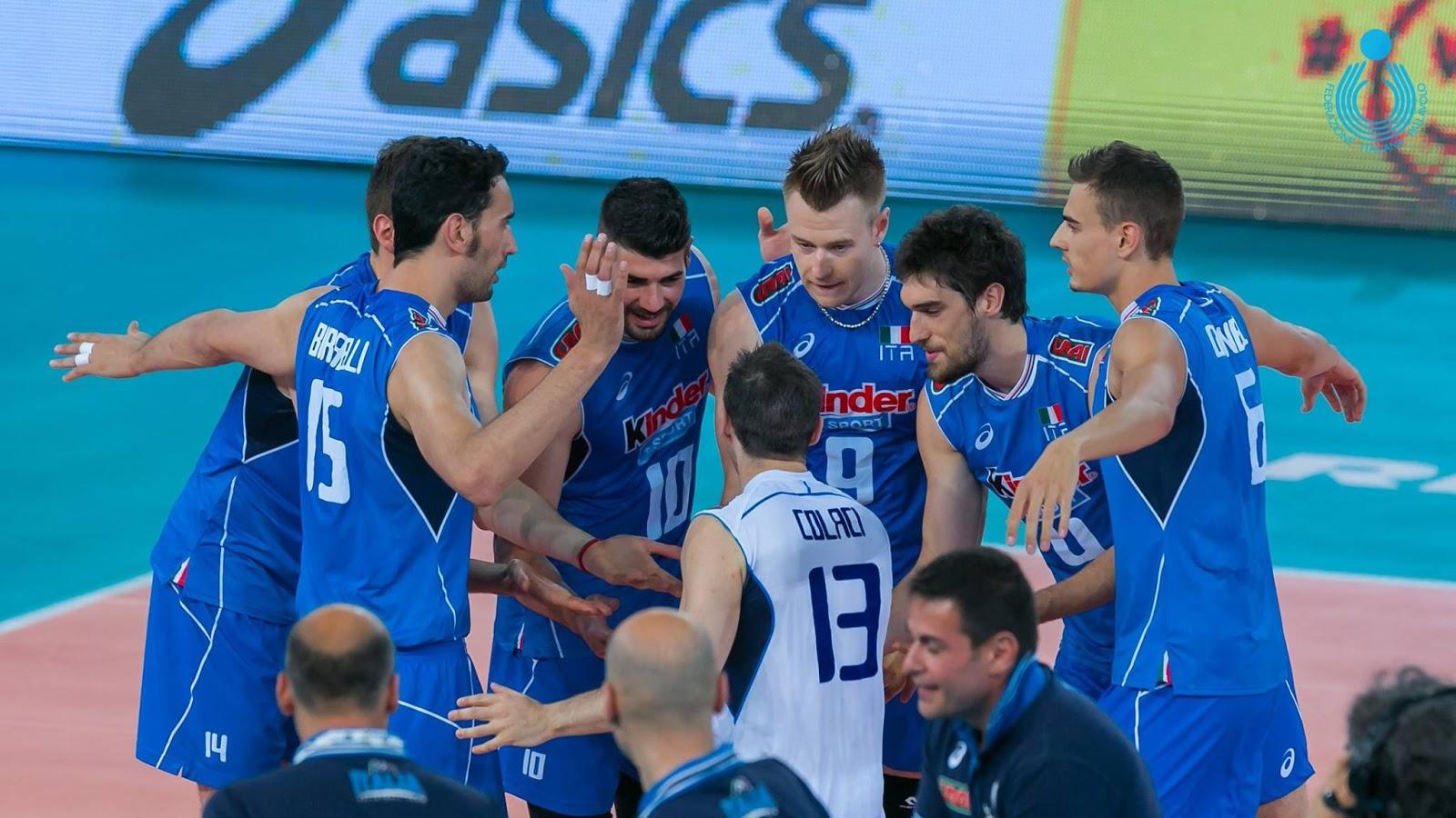 Tutte le partite della nazionale italiana di pallavolo for Piscina e maschile o femminile