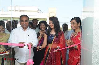Telugu Actress Bhanu Sri Stills in Lehenga Choli at Anoo's Salon Launch at Ongole  0016.jpg