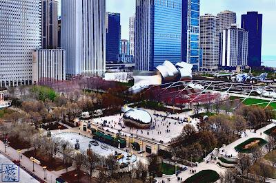 Le Chameau Bleu- Instantanés de Chicago - Photos de notre périple à Chicago
