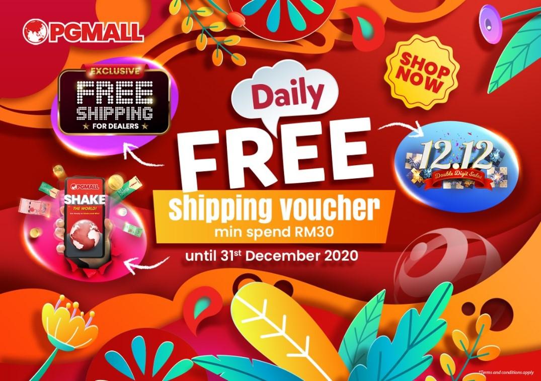 PG mall Kempen beli barangan malaysia