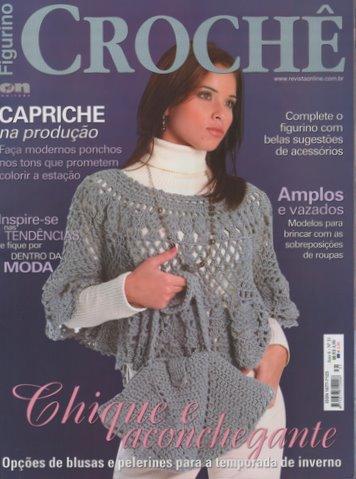 Figurino Crochê-Revista Chic e Aconchegante