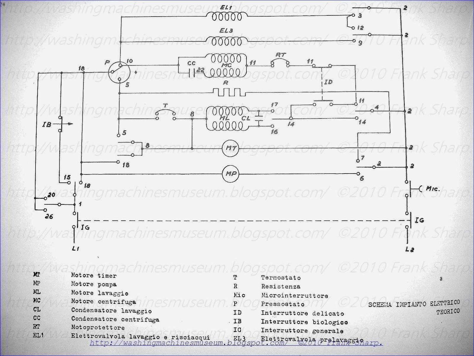 washer rama museum.: philips mod. kb2055 bio40 schematic ... rex hall airbus wiring diagram hall effect distributor wiring diagram