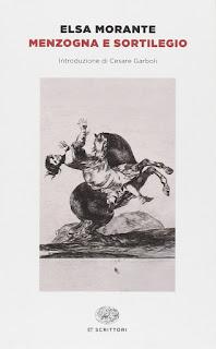 copertina Elsa Morante Menzogna e sortilegio