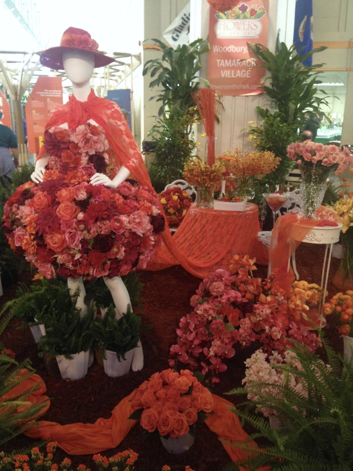 Amys Creative Pursuits The Minnesota State Fair Flower Exhibit