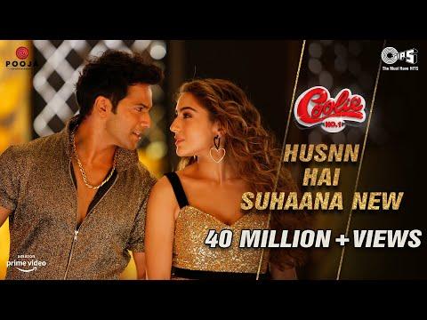 Husnn Hai Suhaana New  Lyrics - Coolie No.1| VarunDhawan