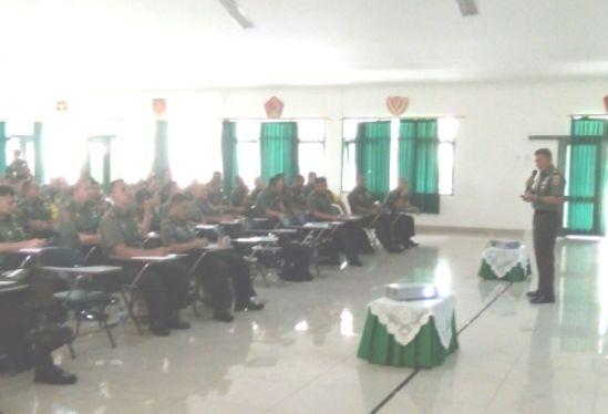 Pimpin TNI AD Di Pulau Selayar, Yuwono, Dipercaya, Jadi Motivator, Siswa Sus Dandim 2017