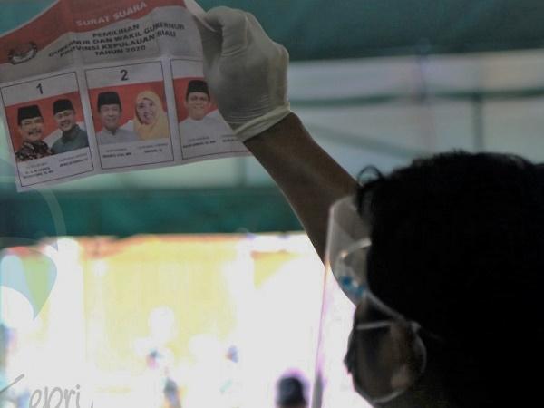 Rekapitulasi KPU Tanjung Pinang, Berikut Temuan dan Perolehan Suara Paslon Gubernur Kepri