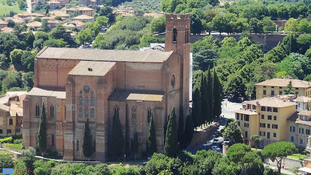 Basilca di San Domenico, Siena