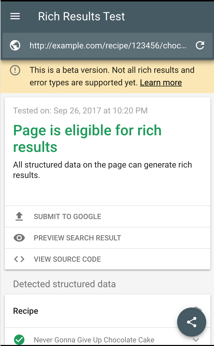 Official Google Webmaster Central Blog: Introducing Rich