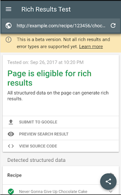 Introducing Rich Results & the Rich Results Testing Tool |