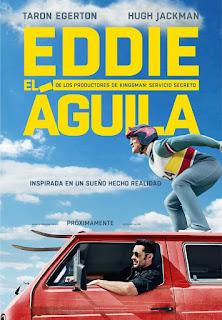 Cartel: Eddie el Águila