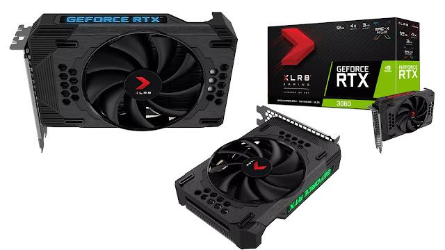 PNY-GeForce-RTX-3060-12GB-XLR8-Gaming-REVEL-Epic-X-RGB-Single-Fan-Edition-Top-Side-Box-View