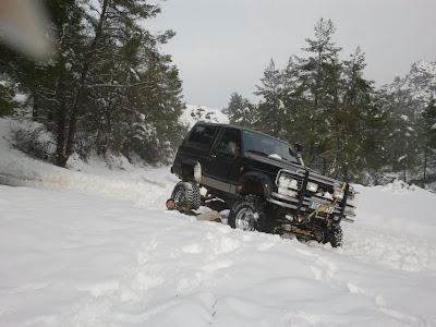 4x4 modificado - NEVADA 2013