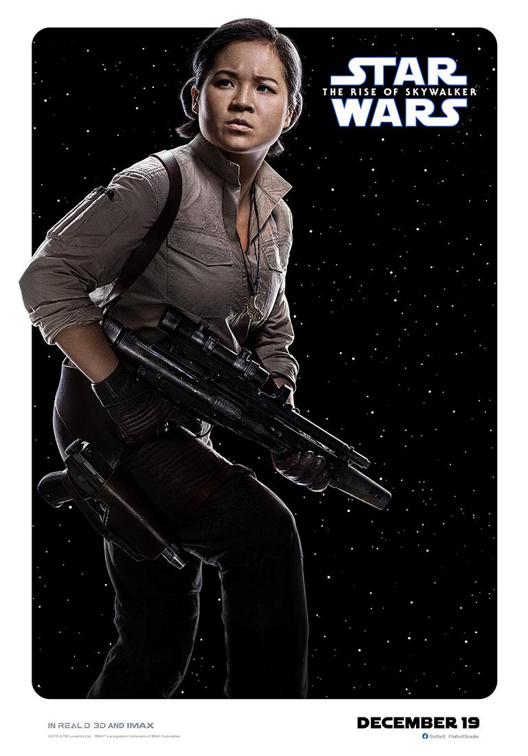 Star Wars: The Rise of Skywalker rose poster