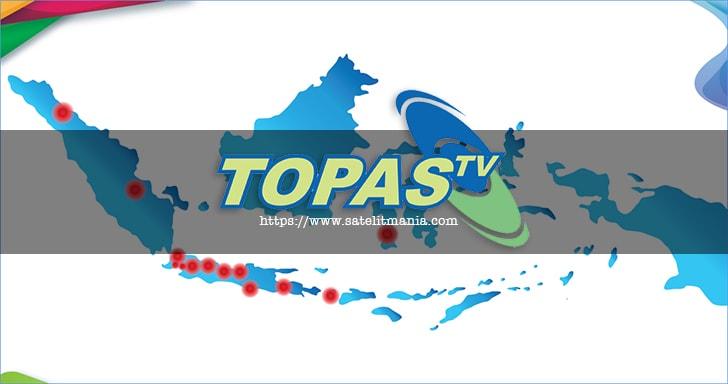 Frekuensi Topas TV di Satelit Chinasat 10 Transponder Terbaru