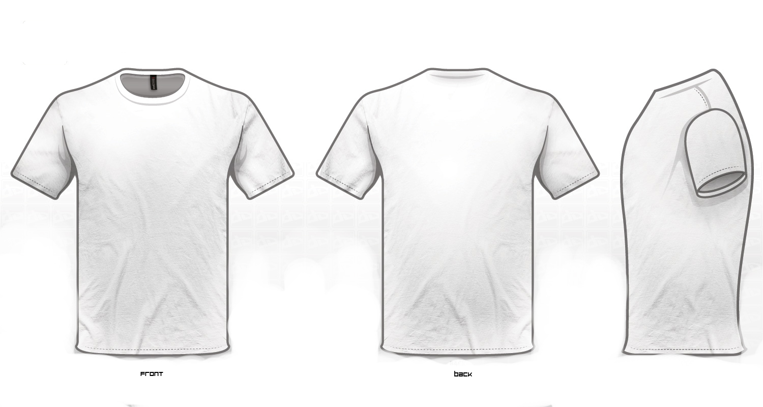Design T Shirts Template. designinstance. free t shirt template ...