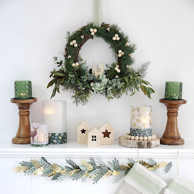 Neutral Farmhouse DIY Christmas Décor