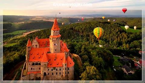 Cuatro paseos en globo para descubrir Chequia a vista de pájaro