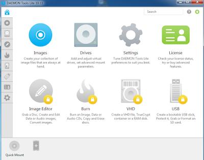 Cara membuat File ISO Menggunakan Daemon Tools Lite Lengkap Dengan Gambar