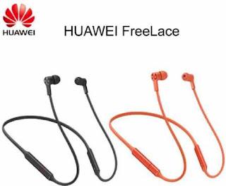 Huawei Rilis Earphone Tanpa Kabel Terbaru yakni Huawei FreeLace