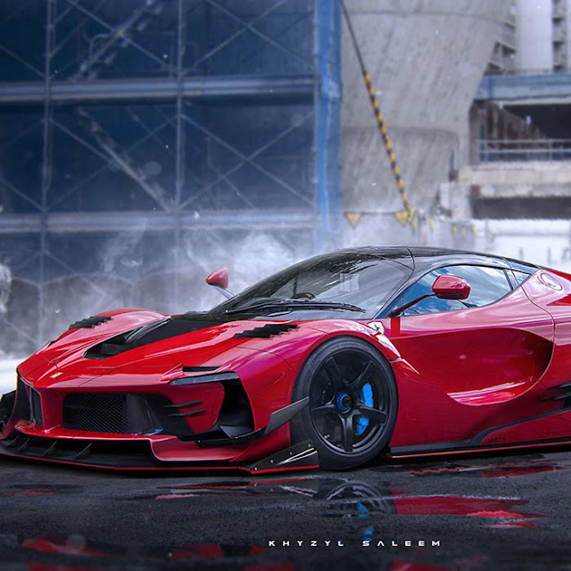 Ferrari Concept Wallpaper Engine