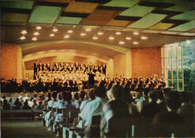 """Начало 1970-х годов. Юрмала. Концерт филармонии """"Рижское лето"""" в концертном зале """"Дзинтари"""""""
