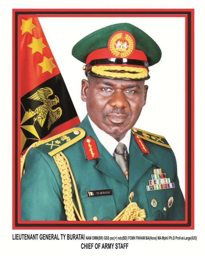Buratai Lauds Troops, Urges More Professionalism, Responsiveness