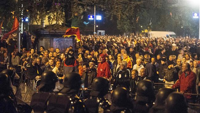 Macedonia's opposition plans to form government after violence