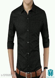 Eva Trendy Cotton Blended Men's Shirts