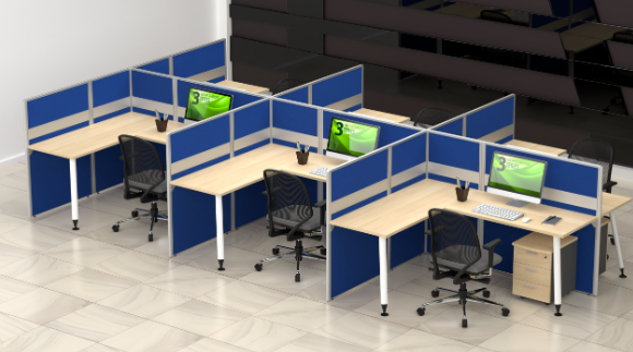 desain ruang kantor modern